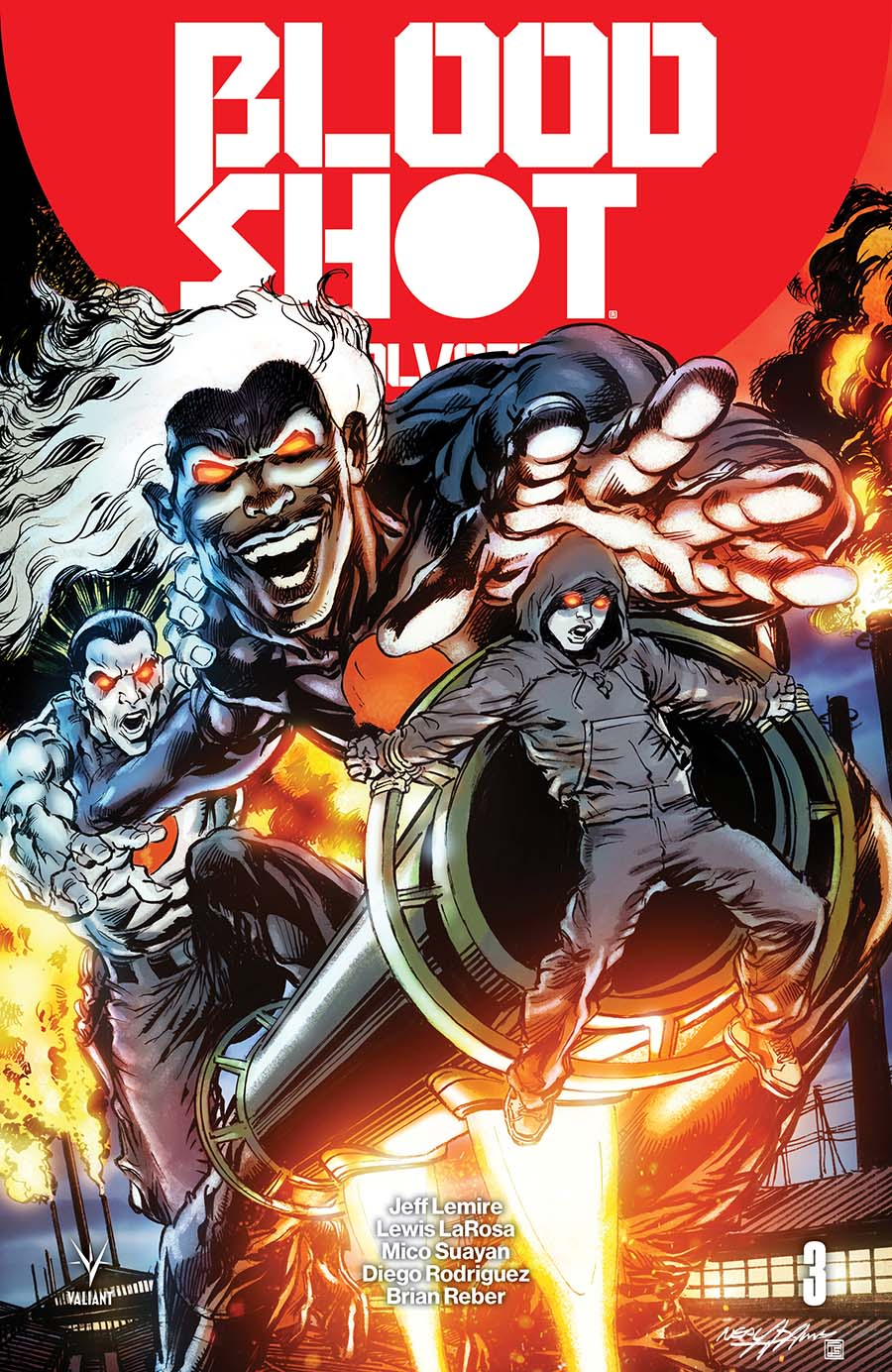 Bloodshot Salvation #3 Cover F Incentive Neal Adams Bloodshot Icon Variant Cover