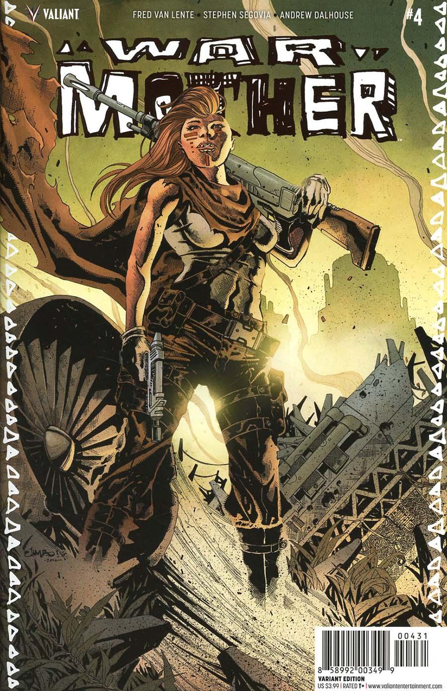 War Mother #4 Cover C Incentive Jimbo Salgado Variant Cover