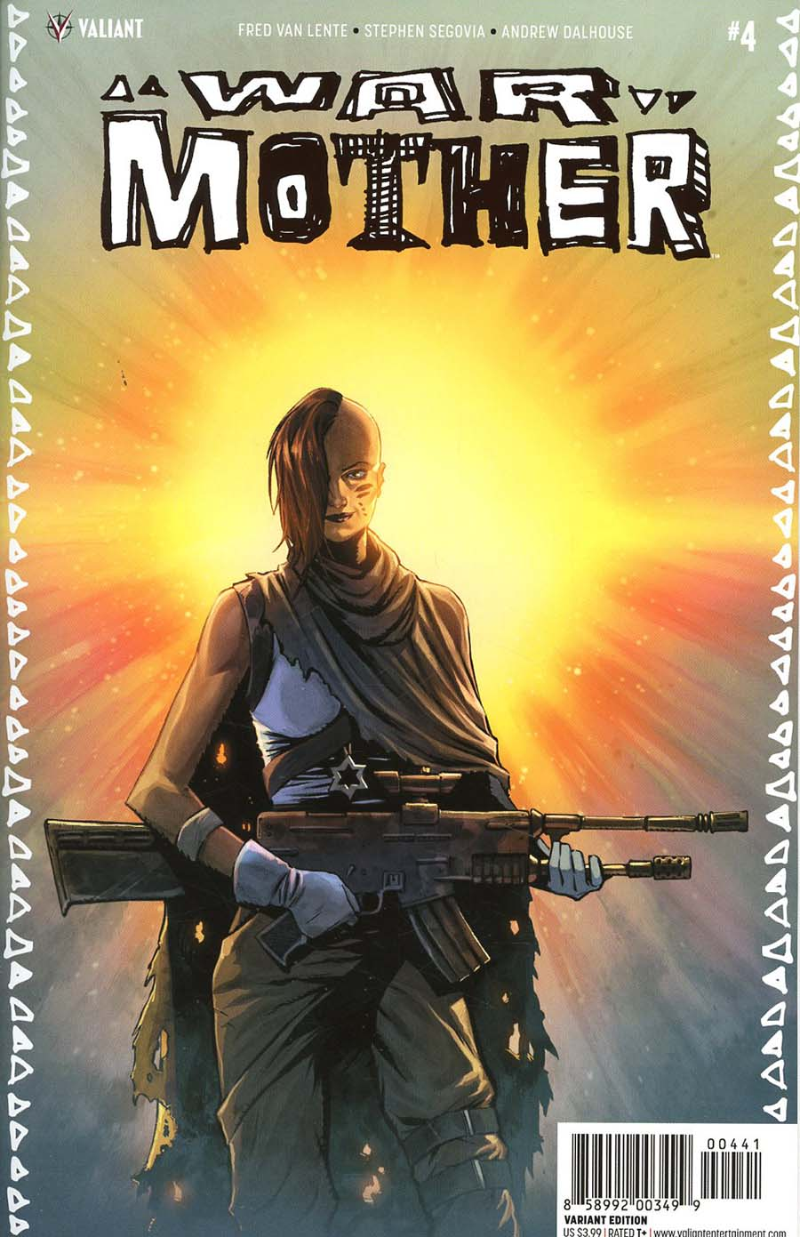 War Mother #4 Cover D Incentive Brent Peeples Variant Cover