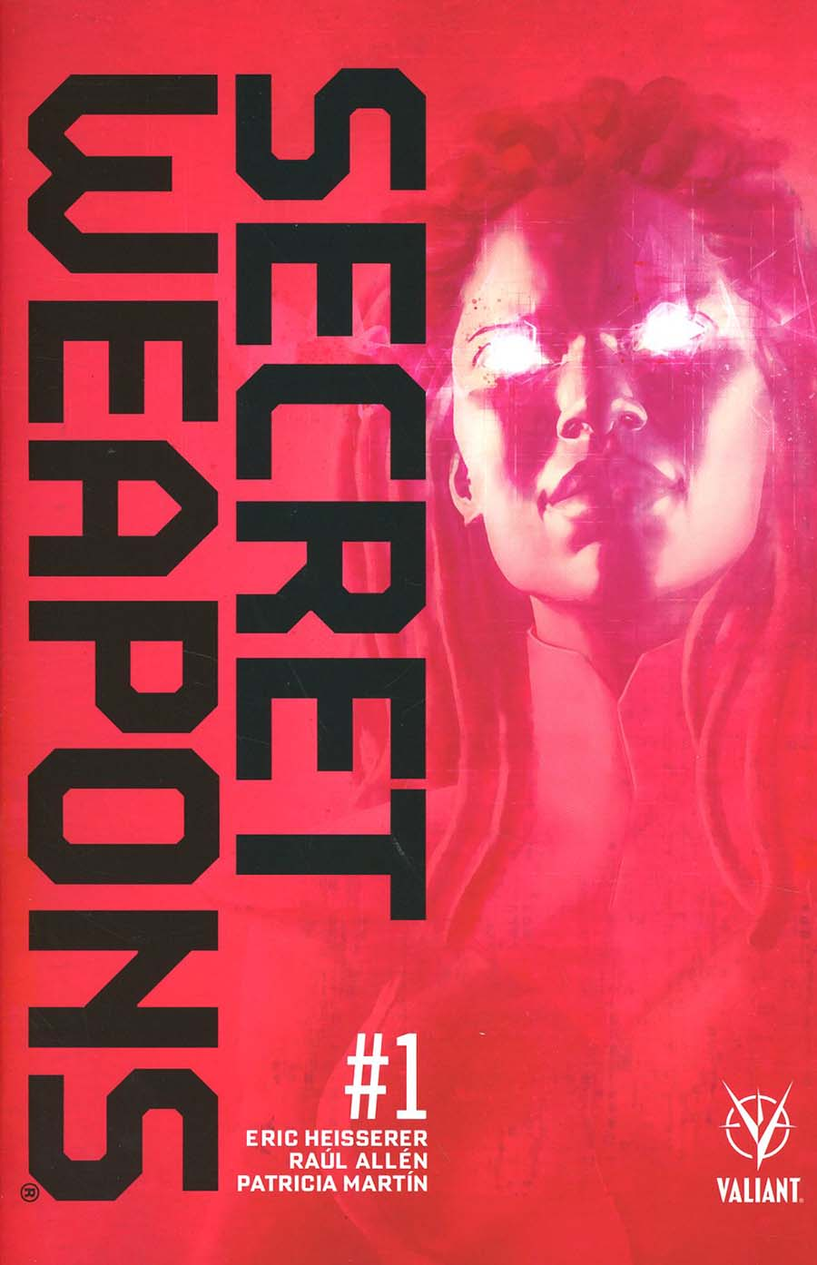 Secret Weapons Vol 2 #1 Cover L 3rd Ptg Raul Allen Variant Cover
