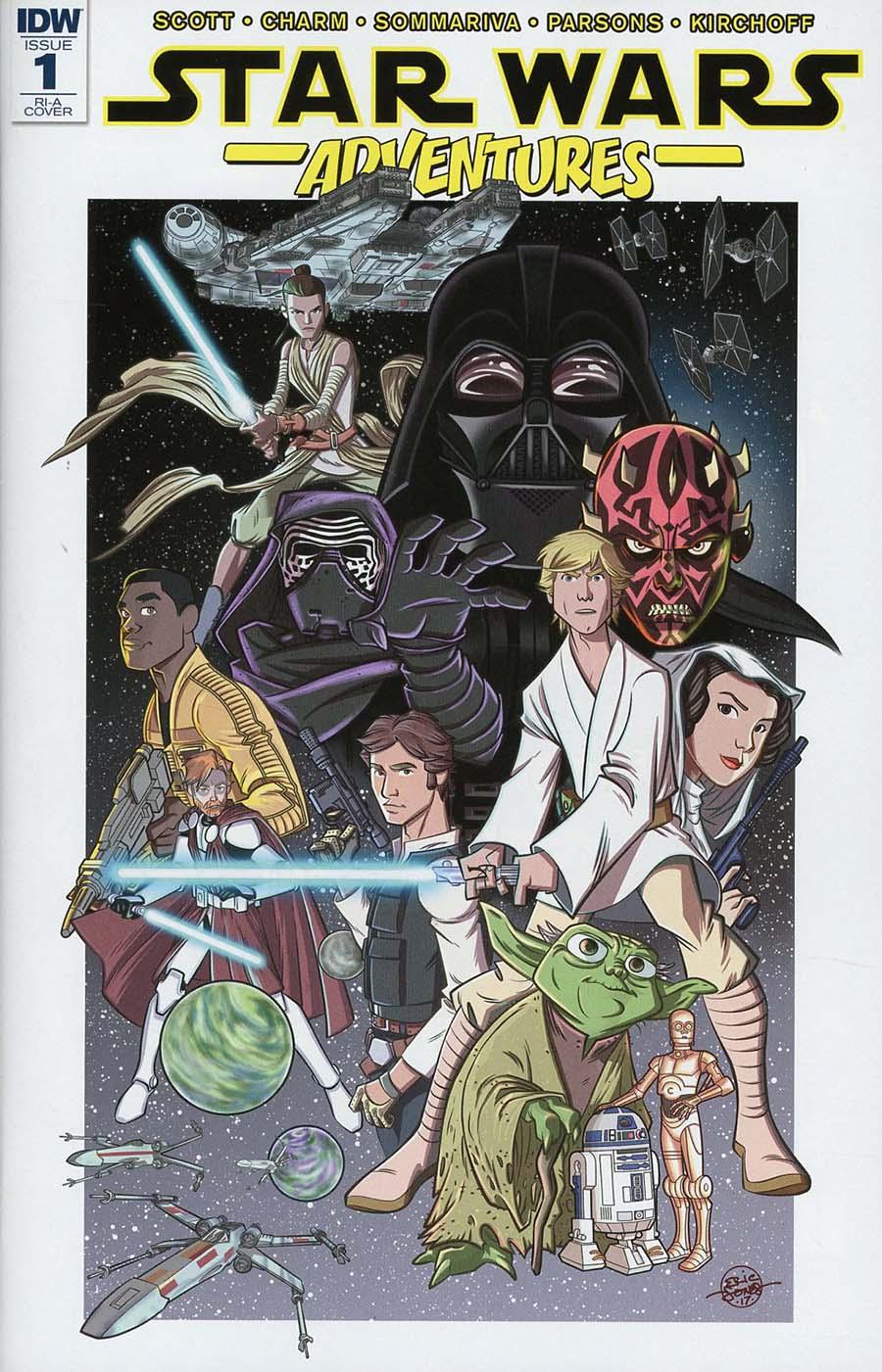 Star Wars Adventures #1 Cover C Incentive Eric Jones Variant Cover