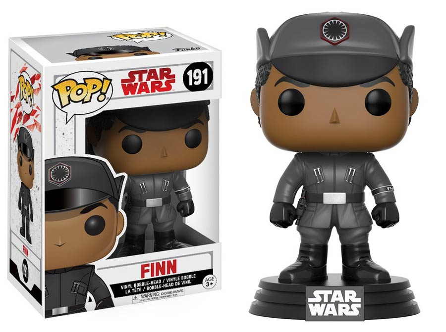 POP Star Wars 191 Star Wars Episode VIII The Last Jedi Finn Vinyl Bobble Head