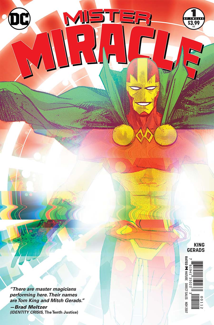 Mister Miracle Vol 4 #1 Cover D 2nd Ptg Variant Mitch Gerads Cover