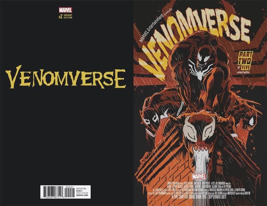 Venomverse #2 Cover D Incentive Francesco Francavilla Variant Cover