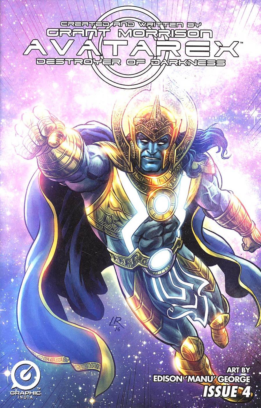 Grant Morrisons Avatarex Destroyer Of Darkness #4 Cover E Incentive Luke Ross Variant Cover