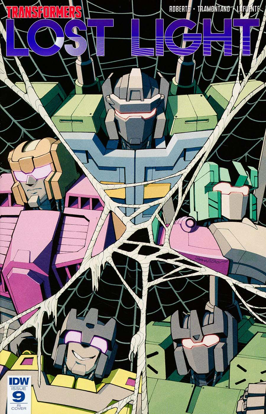 Transformers Lost Light #9 Cover D Incentive Andrew MacLean Variant Cover