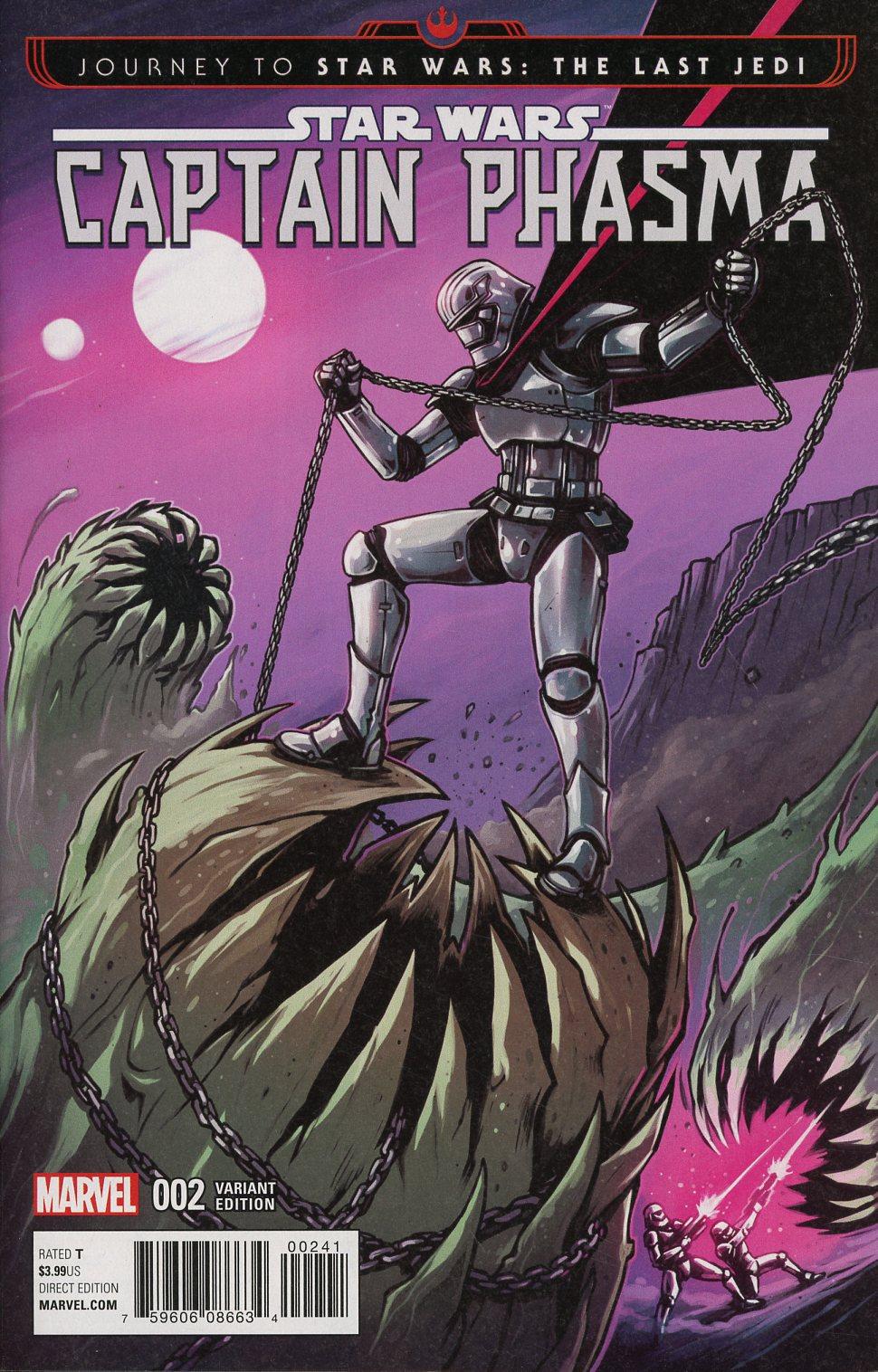 Journey To Star Wars The Last Jedi Captain Phasma #2 Cover C Incentive Caspar Wijngaard Variant Cover