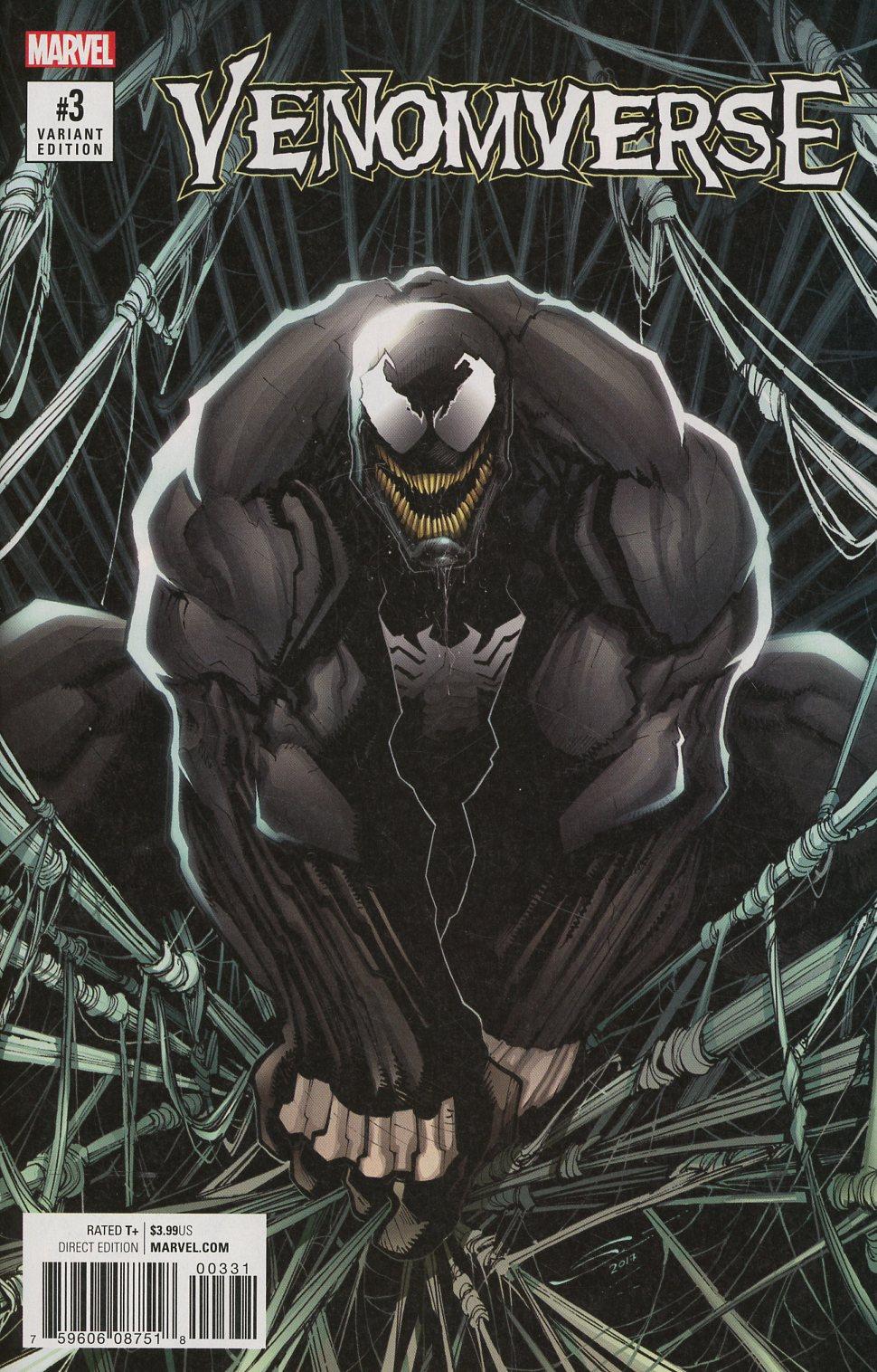 Venomverse #3 Cover D Incentive Gerardo Sandoval Variant Cover