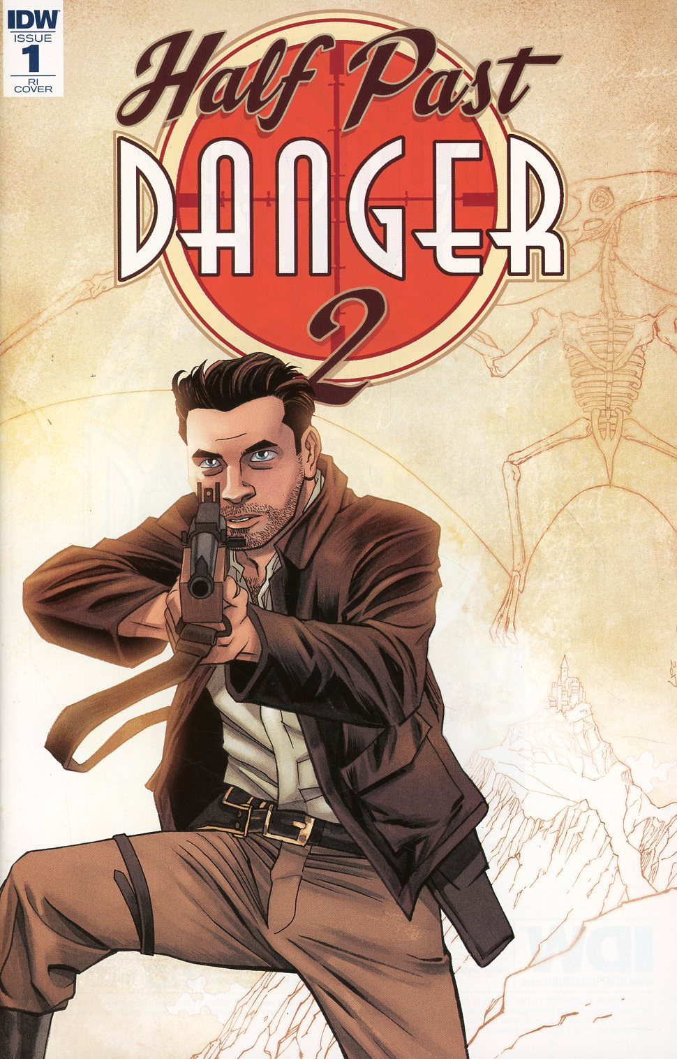 Half Past Danger II Dead To Reichs #1 Cover C Incentive Declan Shalvey & Jordie Bellaire Variant Cover