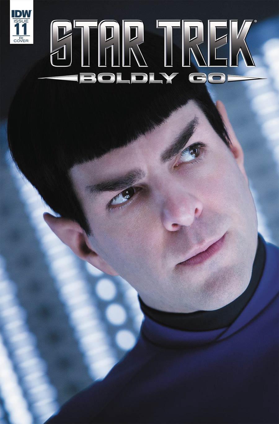 Star Trek Boldly Go #11 Cover C Incentive Photo Variant Cover