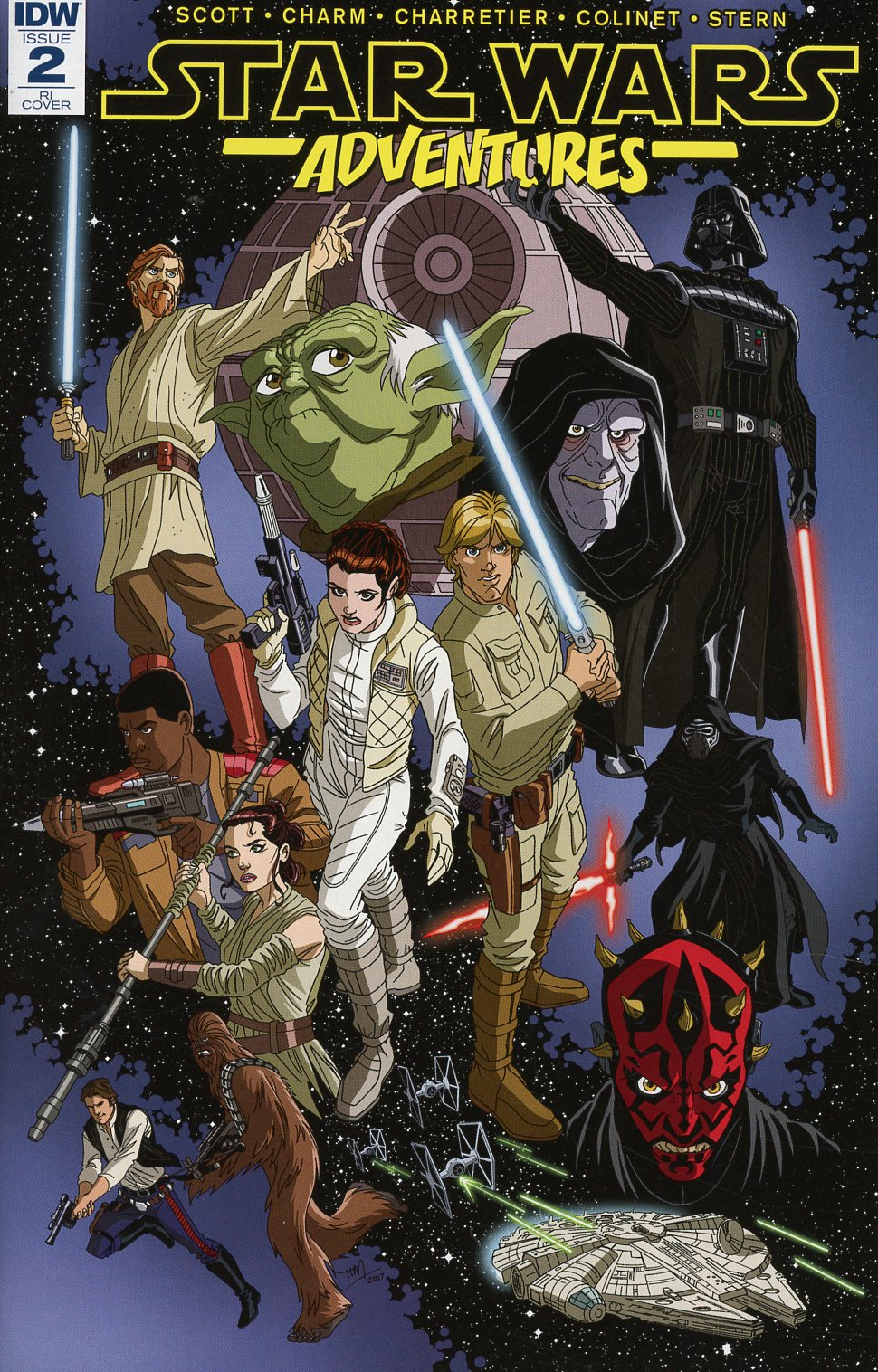 Star Wars Adventures #2 Cover C Incentive Tim Levins Variant Cover