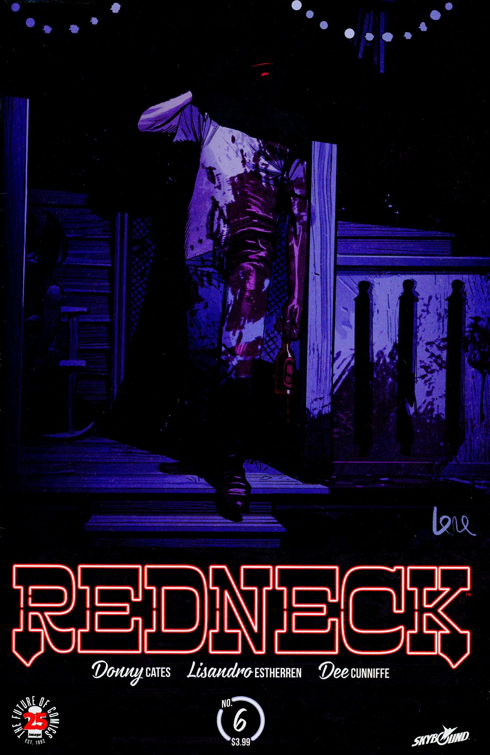 Redneck #6 Cover B Variant Lorenzo De Felici Cover