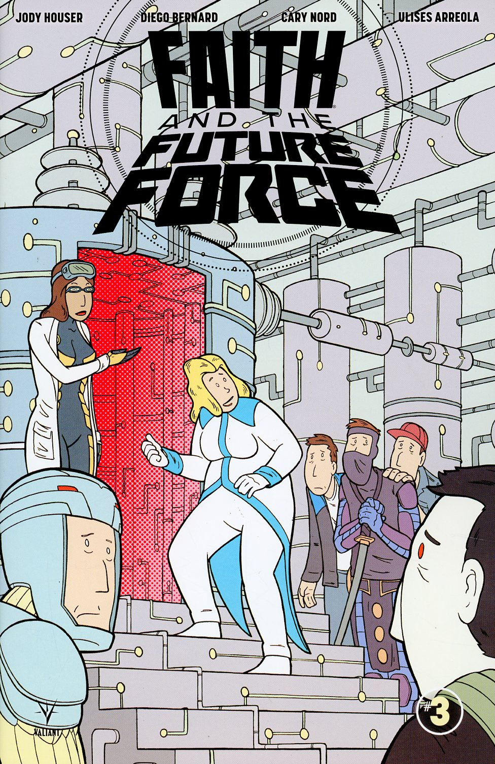Faith And The Future Force #3 Cover C Incentive Doug Paskiewicz Variant Cover