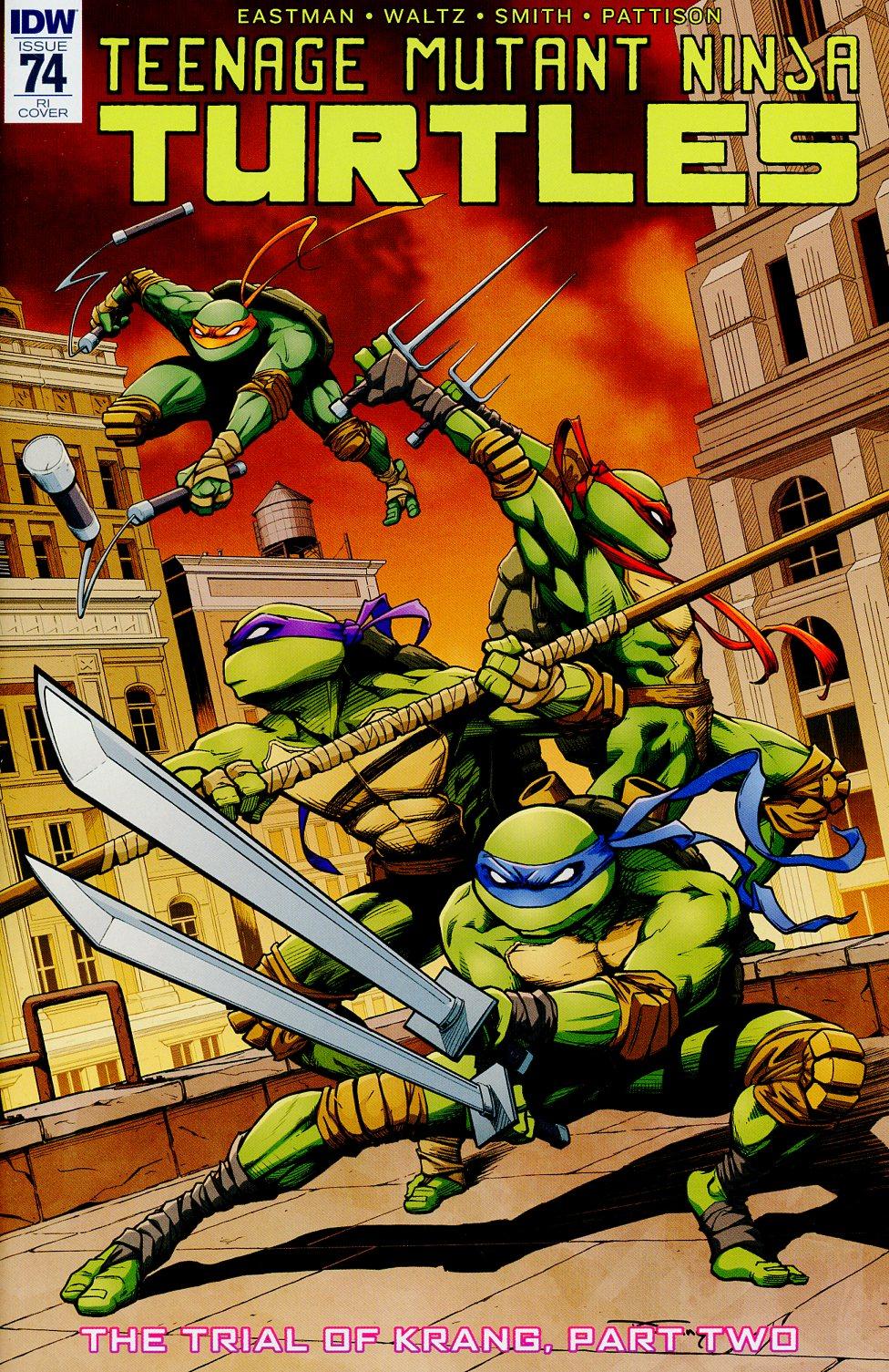 Teenage Mutant Ninja Turtles Vol 5 #74 Cover C Incentive Donny Tran Variant Cover