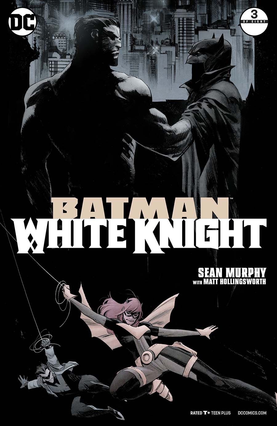 Batman White Knight #3 Cover A 1st Ptg Regular Sean Murphy Cover