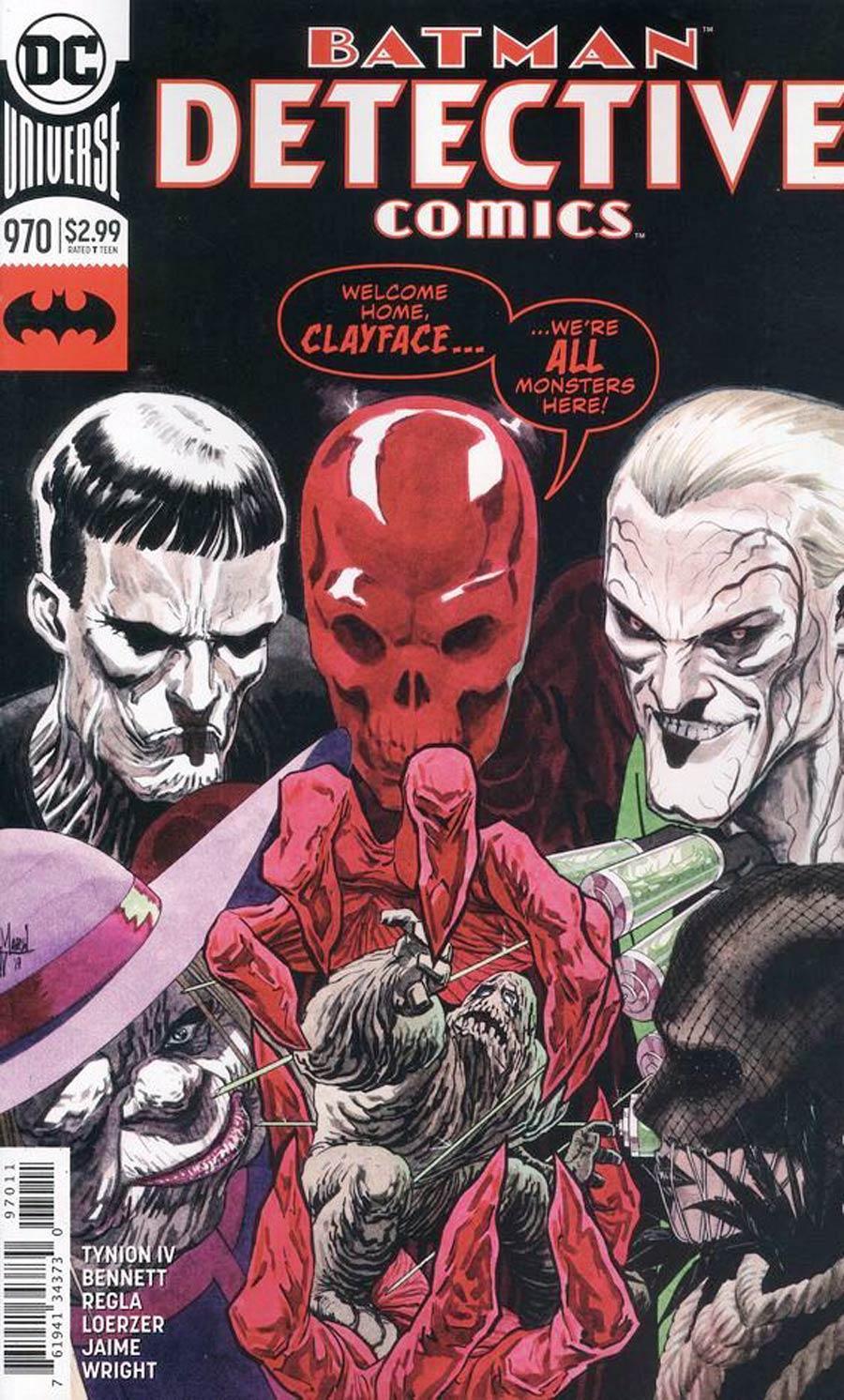 Detective Comics Vol 2 #970 Cover A Regular Guillem March Cover