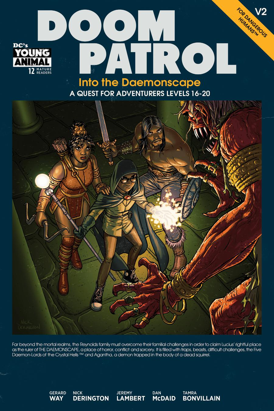 Doom Patrol Vol 6 #12 Cover A Regular Nick Derington Cover