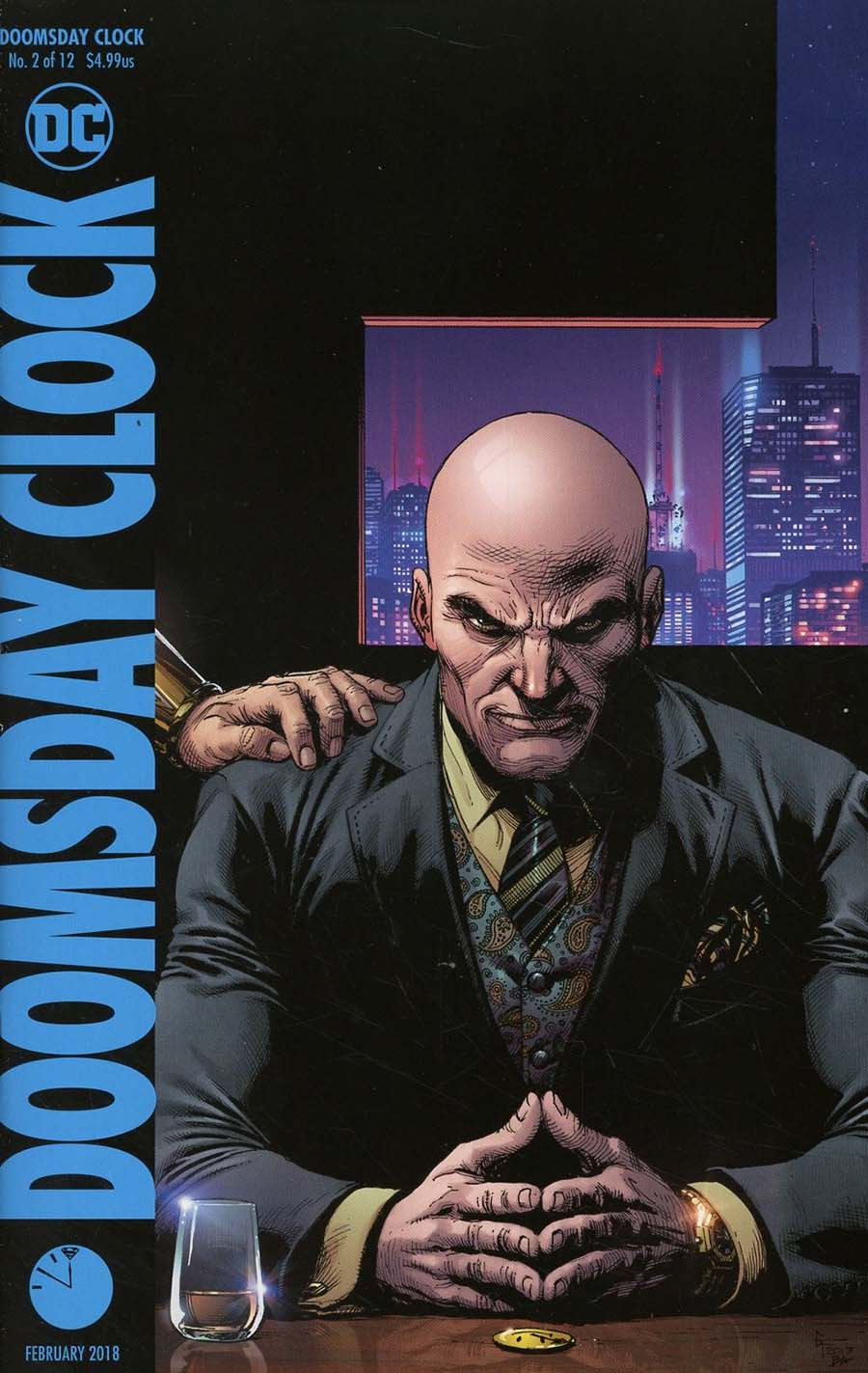 Doomsday Clock 2 Cover B Variant Gary Frank Cover Midtown Comics