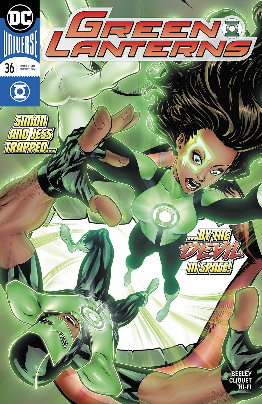 Green Lanterns #36 Cover A Regular Mike McKone Cover