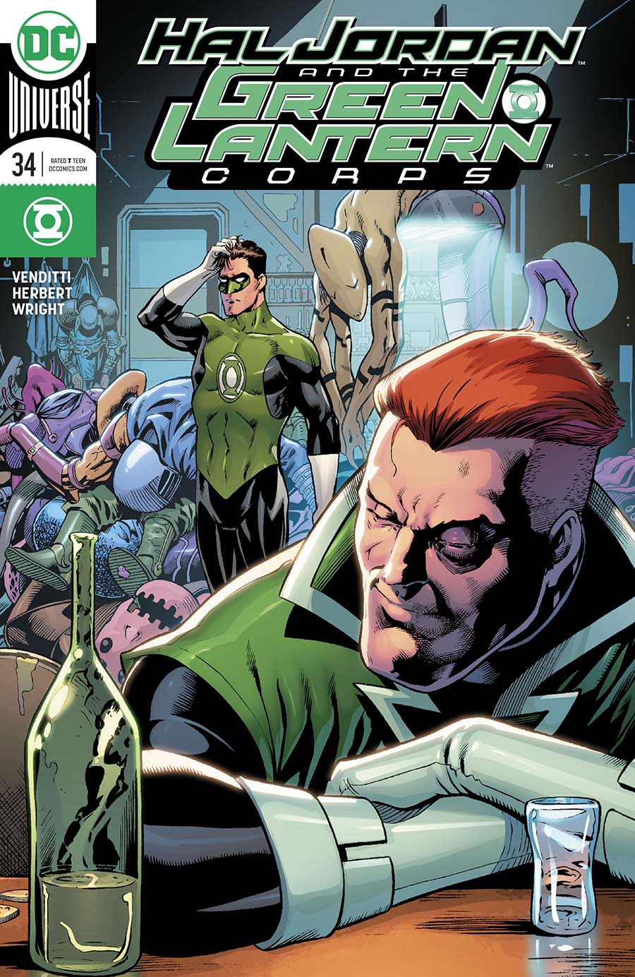 Hal Jordan And The Green Lantern Corps #34 Cover B Variant Barry Kitson Cover