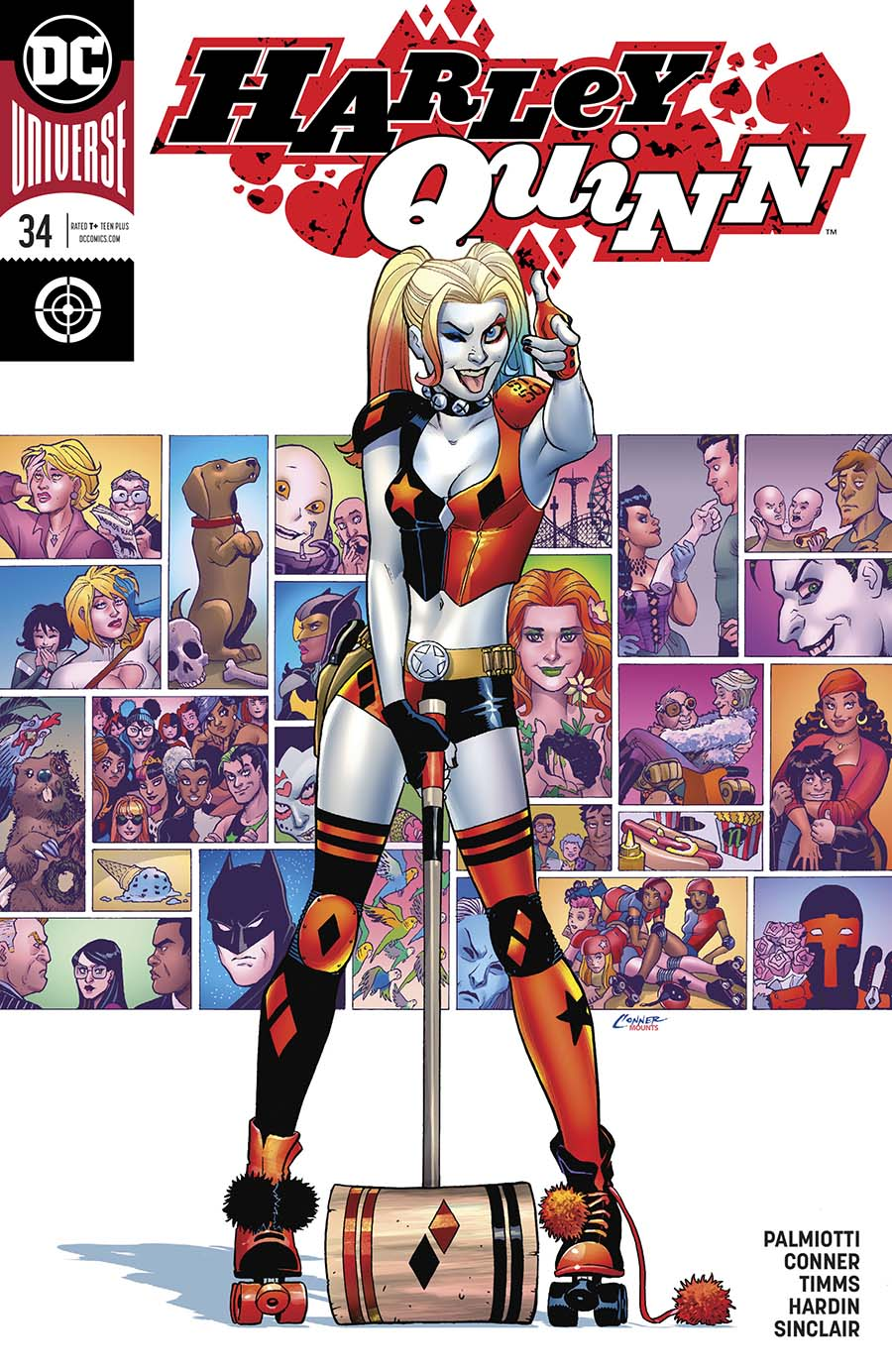 Harley Quinn Vol 3 #34 Cover A Regular Amanda Conner Cover