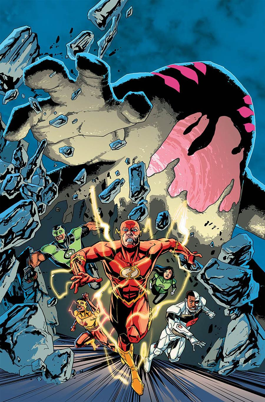 Justice League Vol 3 #35 Cover A Regular Pete Woods Cover