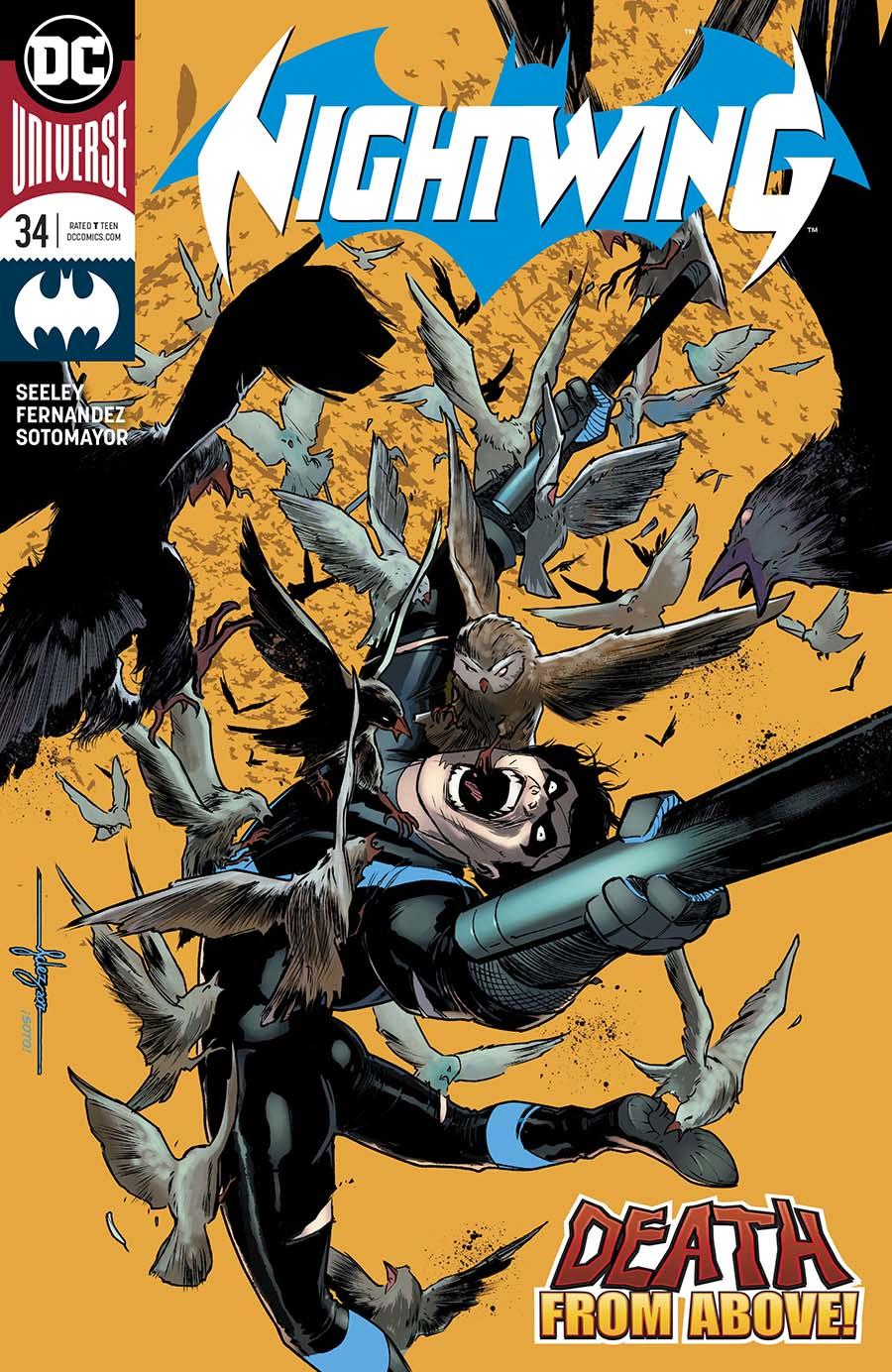 Nightwing Vol 4 #34 Cover A Regular Javier Fernandez Cover