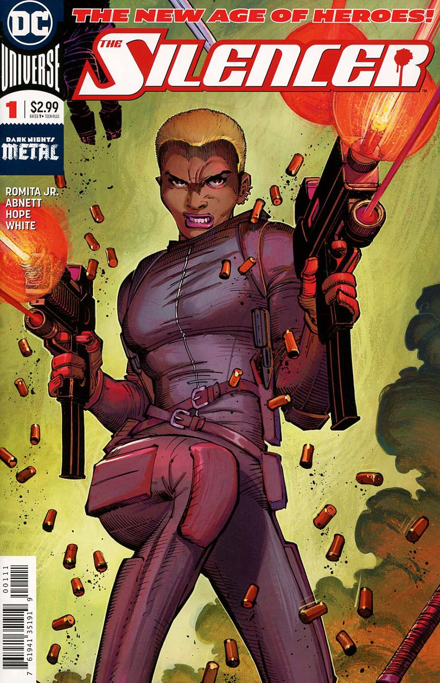 Silencer #1 Cover A 1st Ptg Vertical Foldout Cover