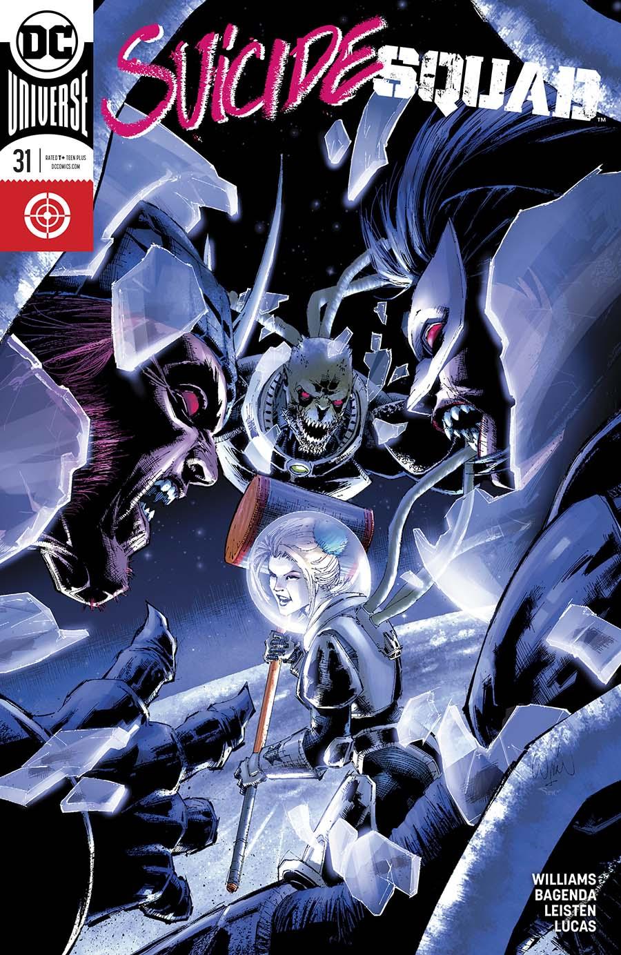 Suicide Squad Vol 4 #31 Cover B Variant Whilce Portacio Cover