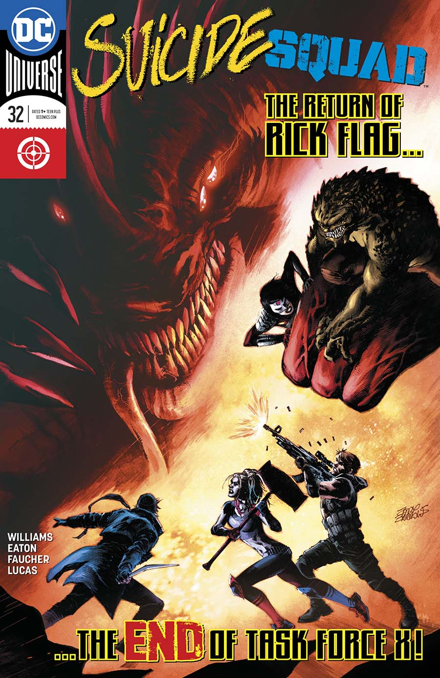 Suicide Squad Vol 4 #32 Cover A Regular Eddy Barrows Cover