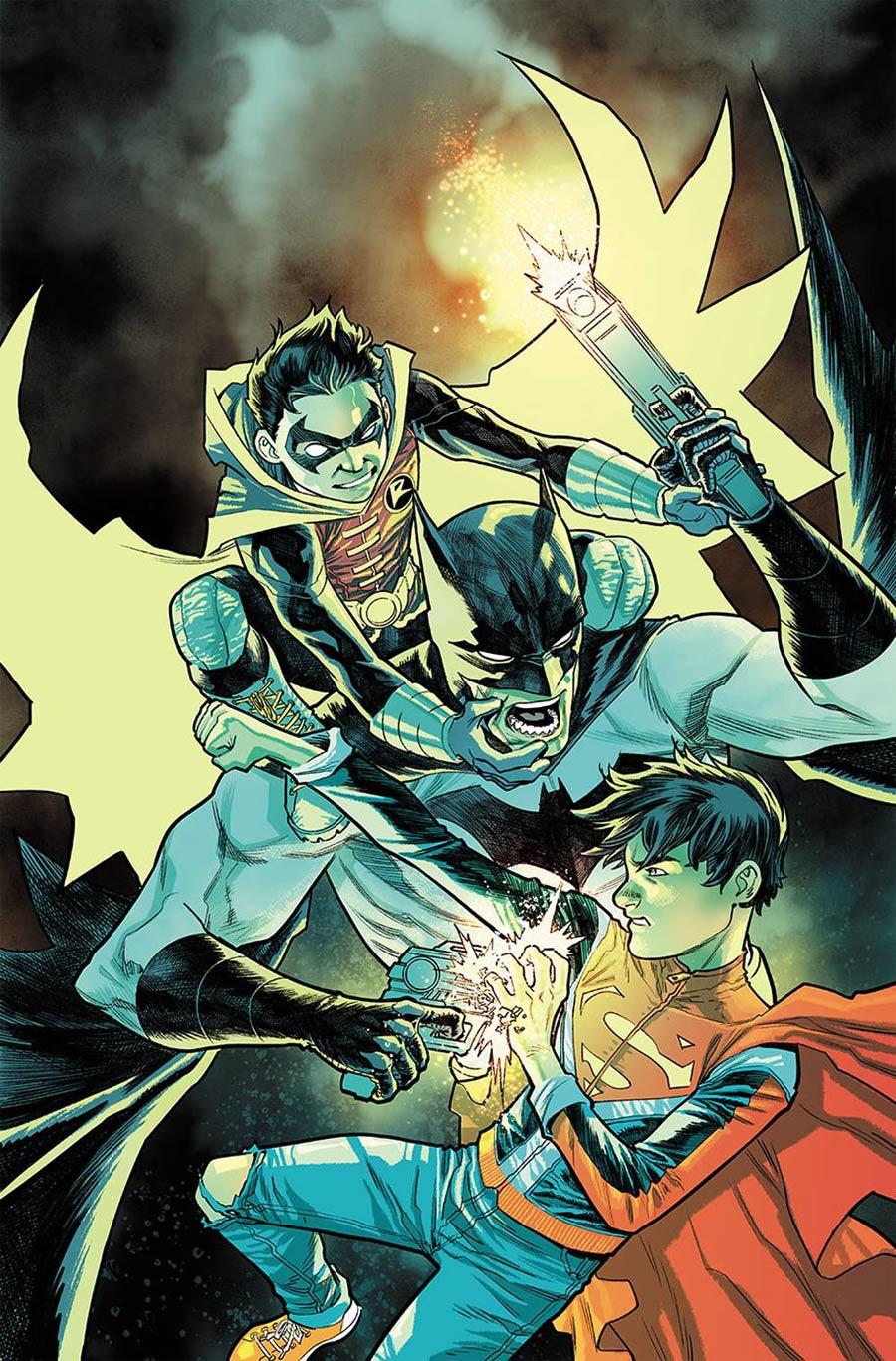 Super Sons #11 Cover A Regular Francis Manapul Cover (Super Sons Of Tomorrow Part 2)