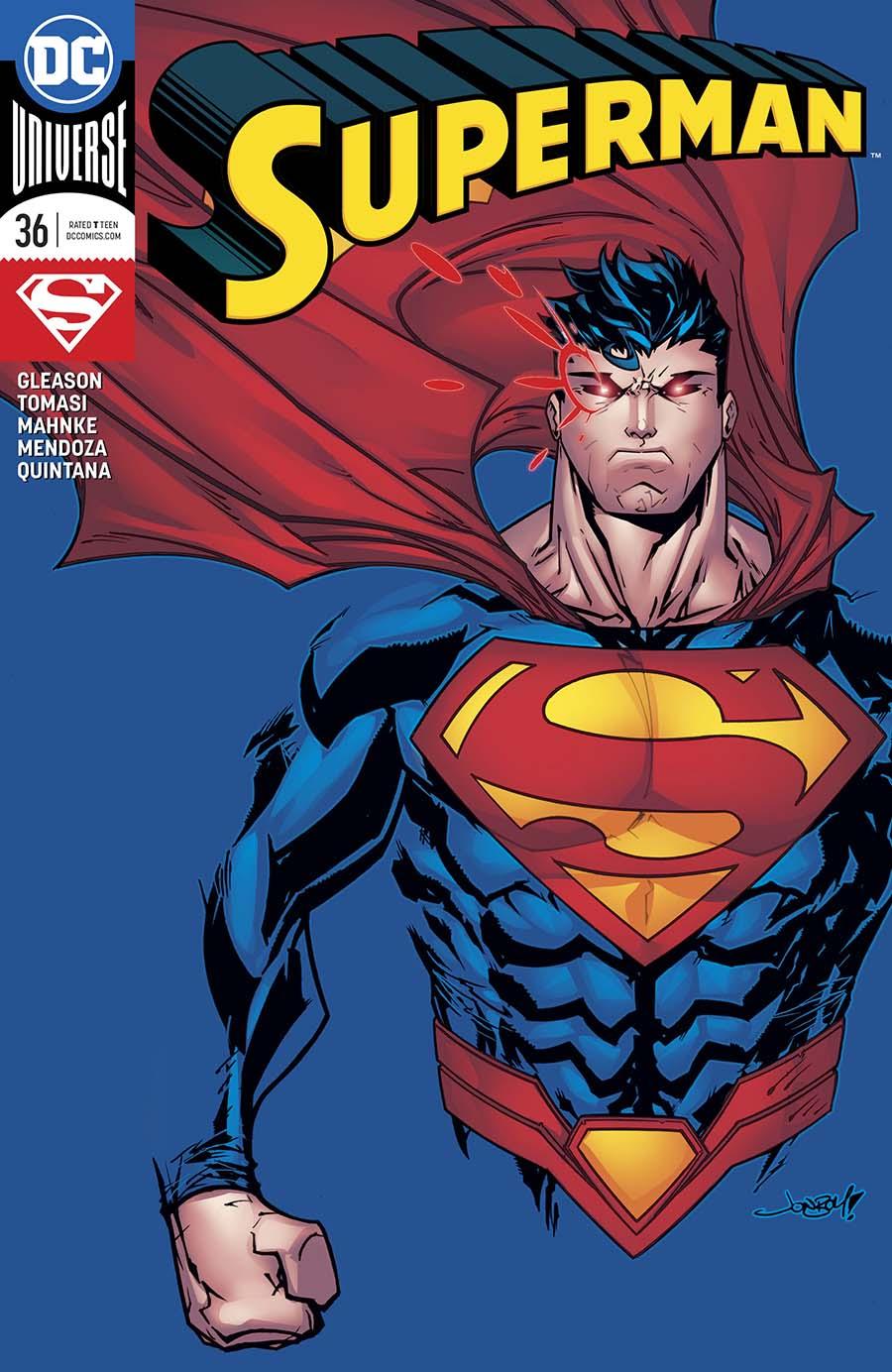 Superman Vol 5 #36 Cover B Variant Jonboy Meyers Cover