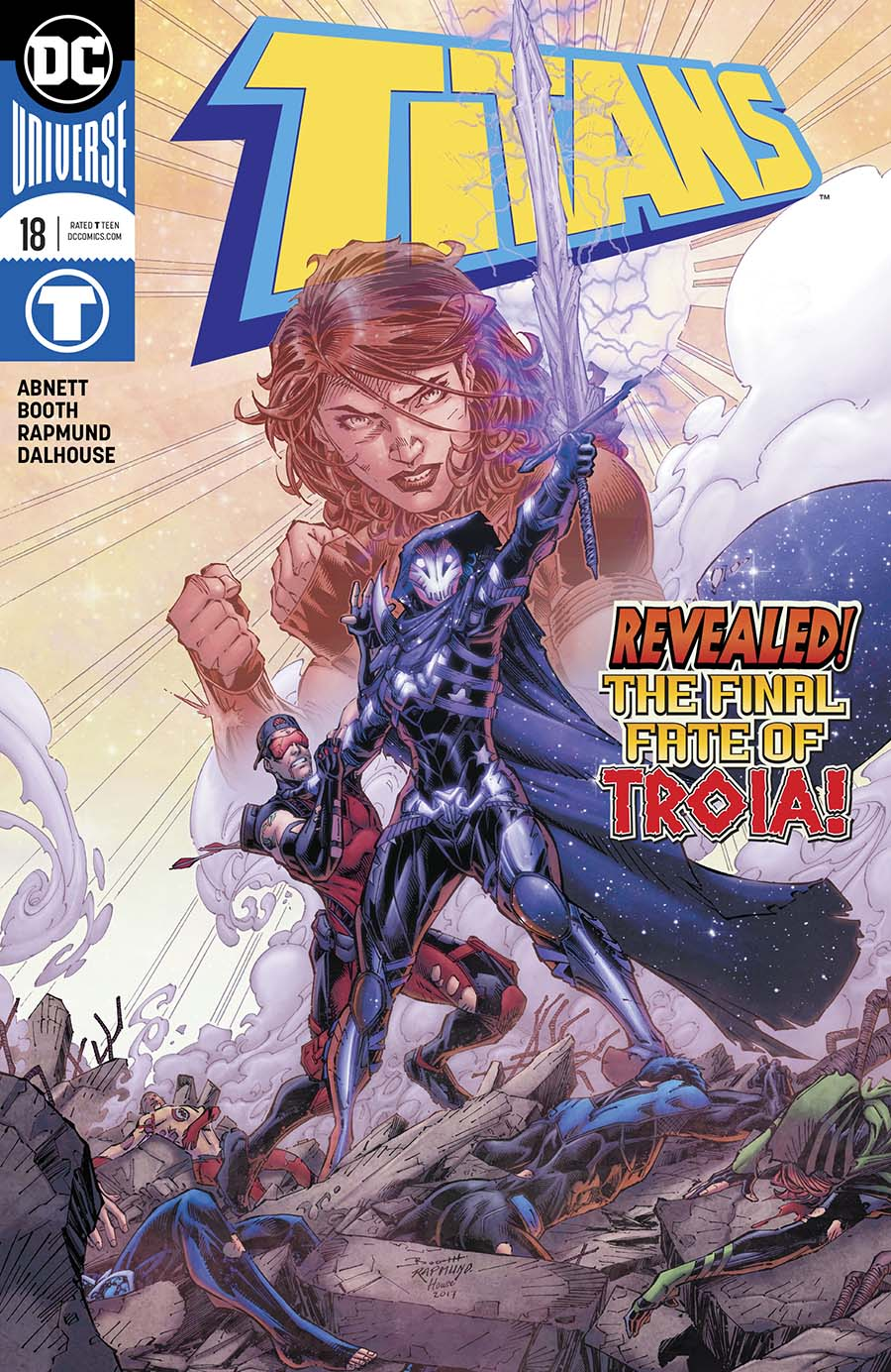 Titans Vol 3 #18 Cover A Regular Brett Booth & Norm Rapmund Cover