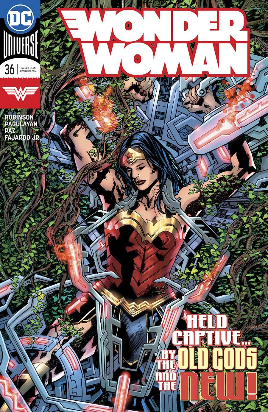Wonder Woman Vol 5 #36 Cover A Regular Bryan Hitch Cover
