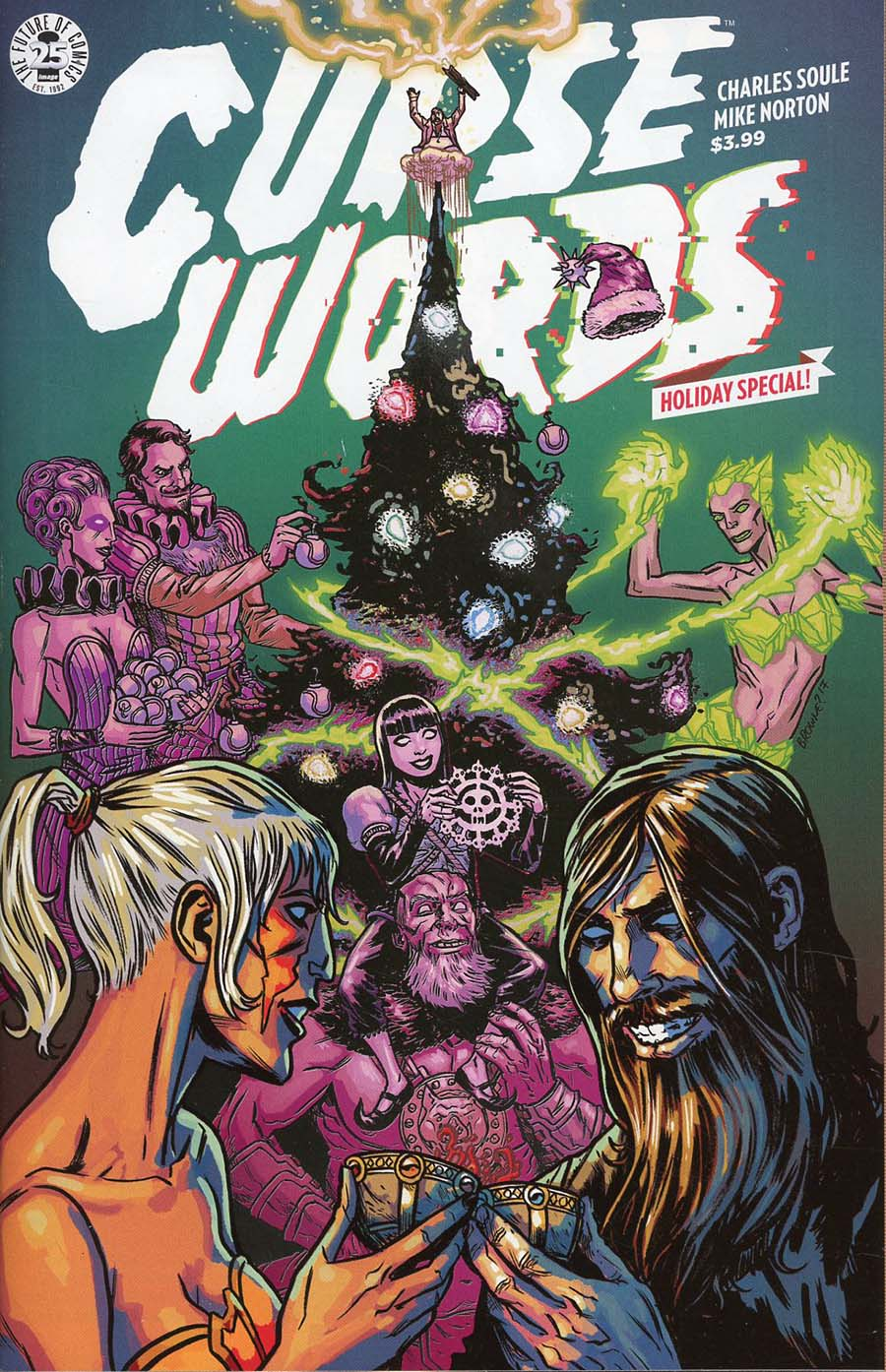 Curse Words Holiday Special One Shot Cover A Regular Ryan Browne Cover