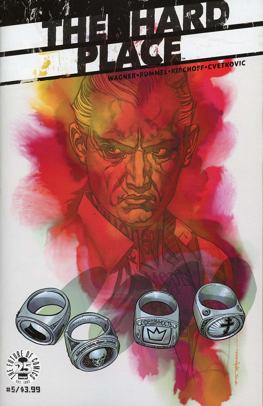 Hard Place #5 Cover A Regular Brian Stelfreeze Cover