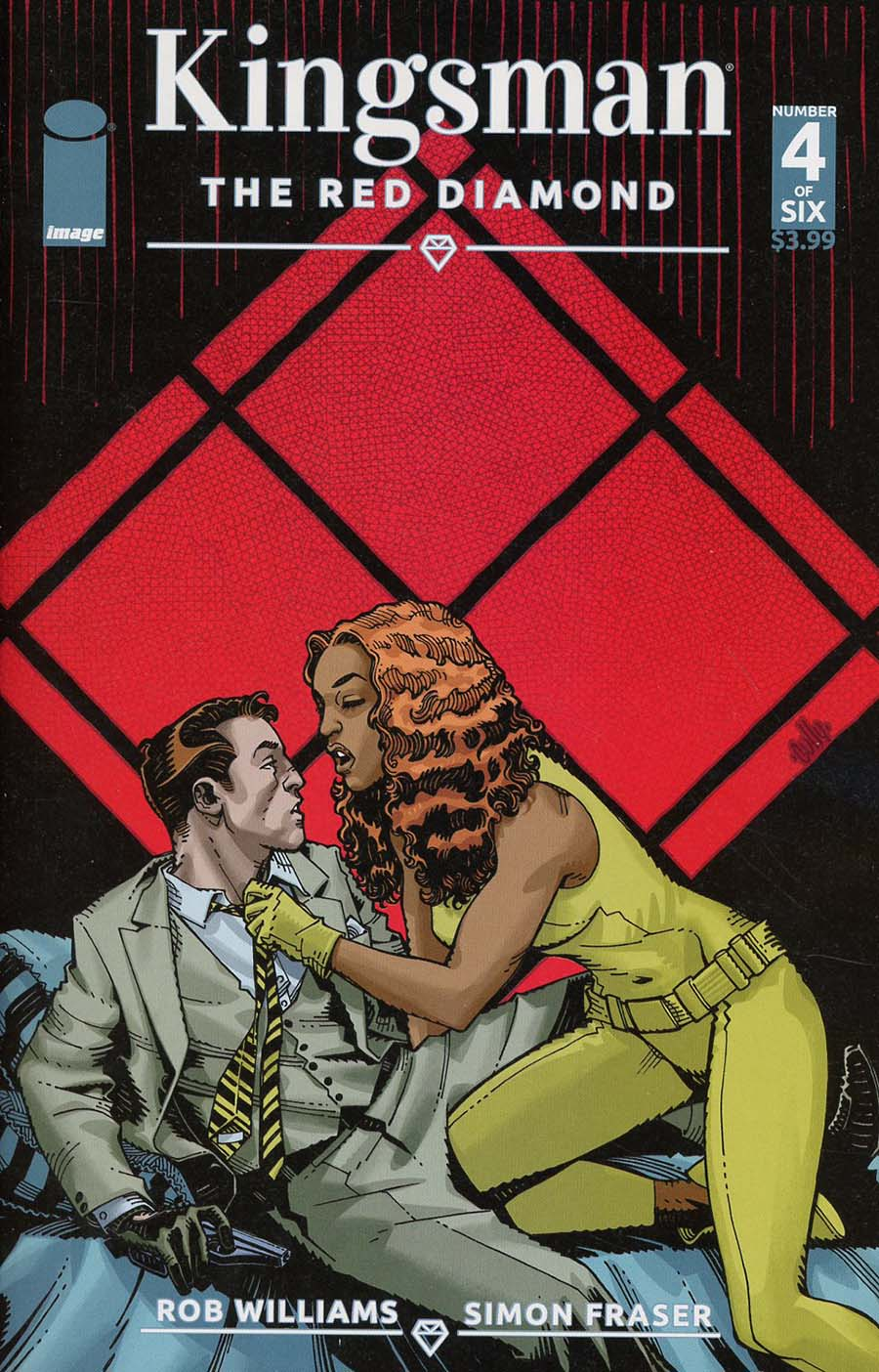 Kingsman Red Diamond #4 Cover A Regular Cully Hamner Color Cover