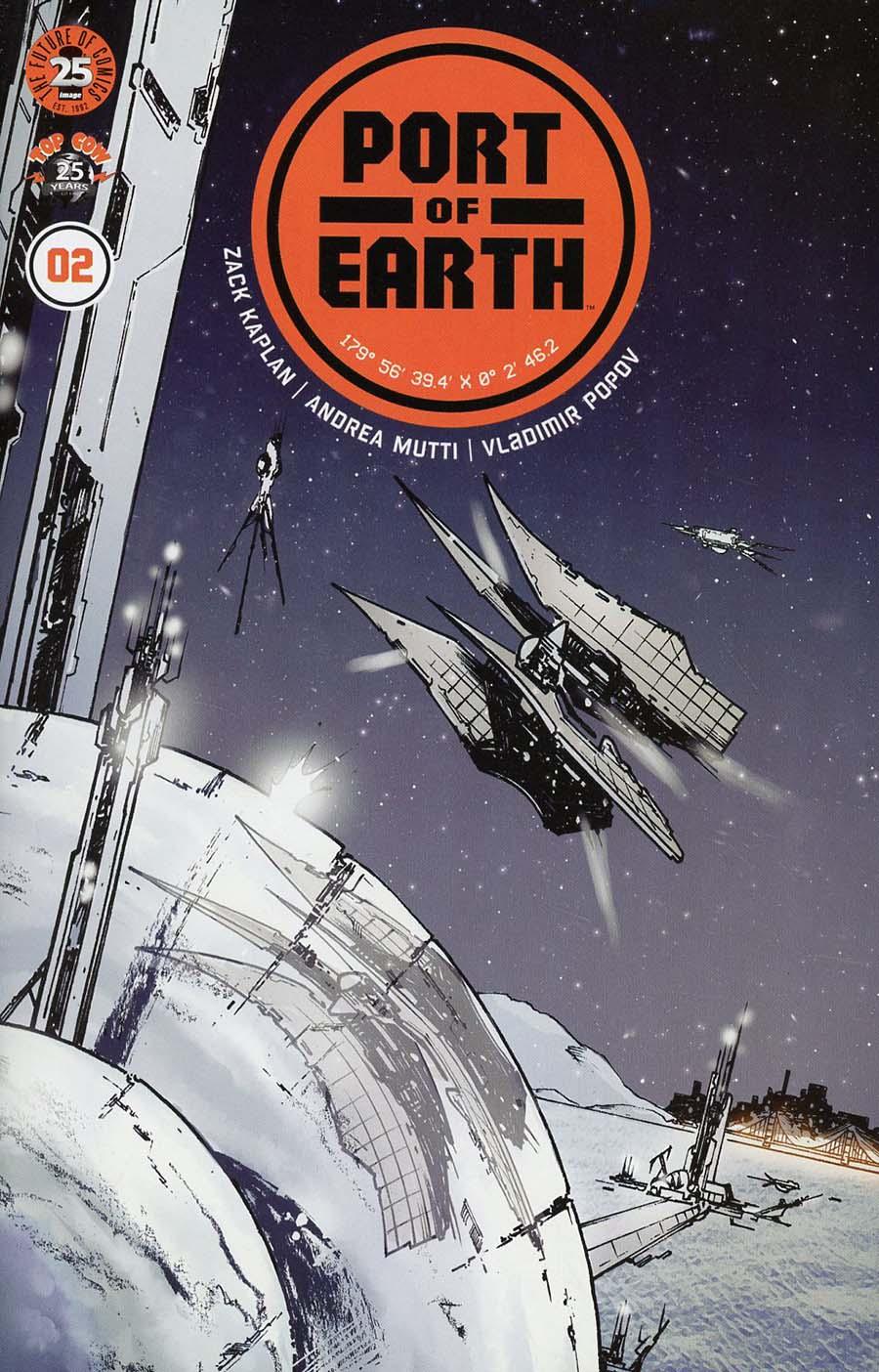 Port Of Earth #2 Cover A Regular Andrea Mutti Cover