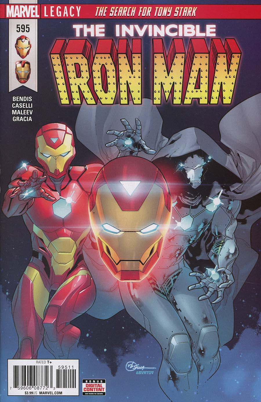 Invincible Iron Man Vol 3 #595 (Marvel Legacy Tie-In)