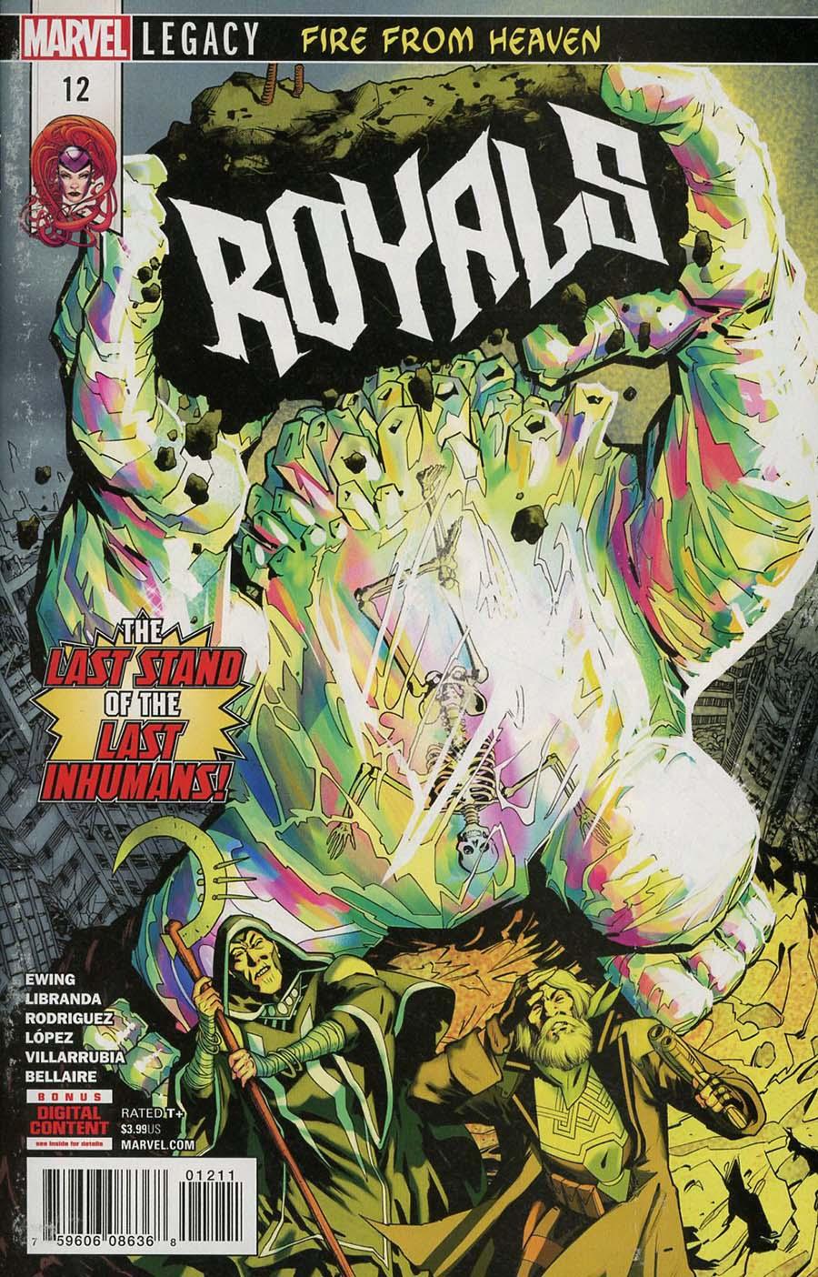 Royals #12 (Marvel Legacy Tie-In)