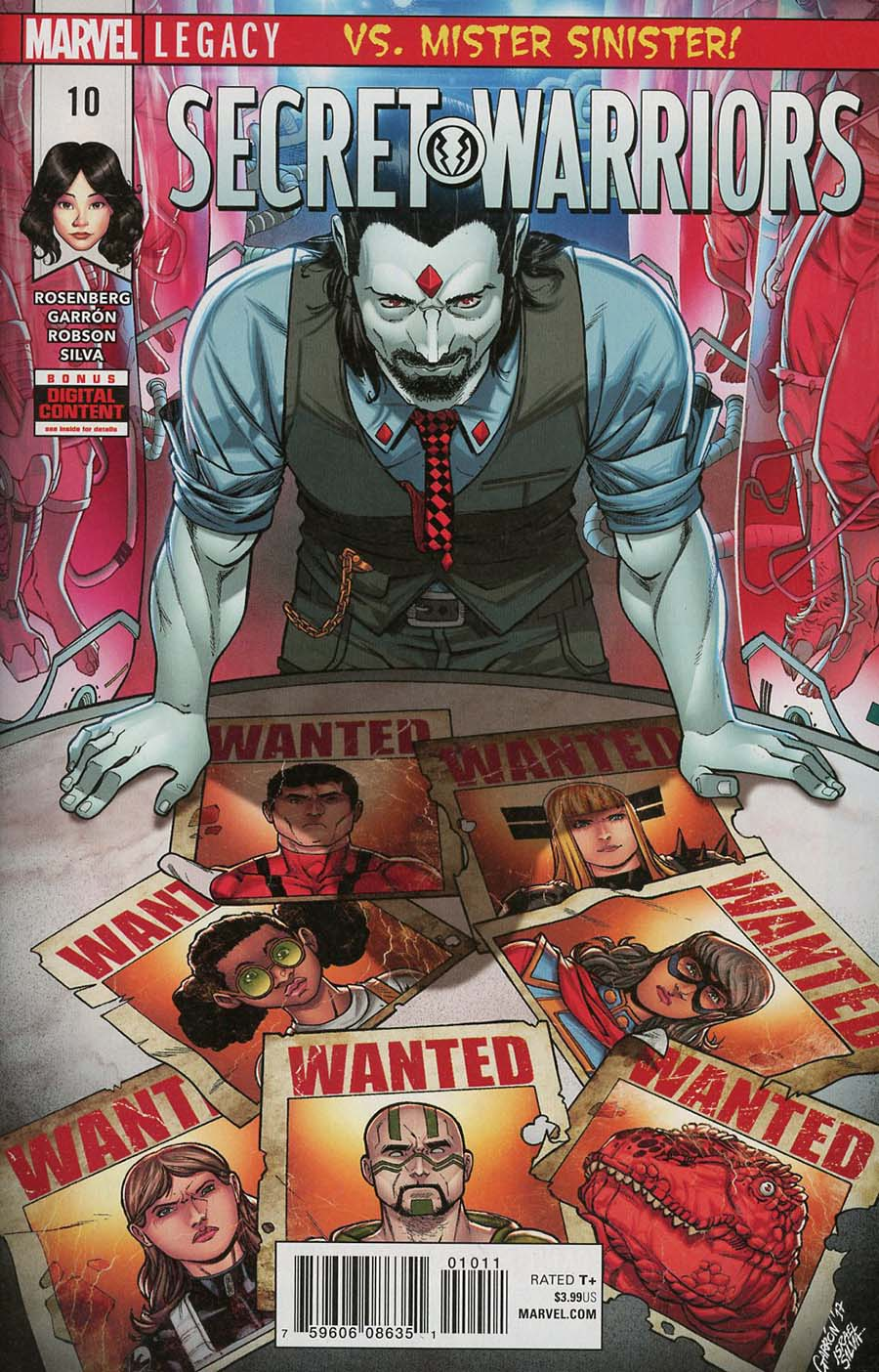 Secret Warriors Vol 2 #10 (Marvel Legacy Tie-In)