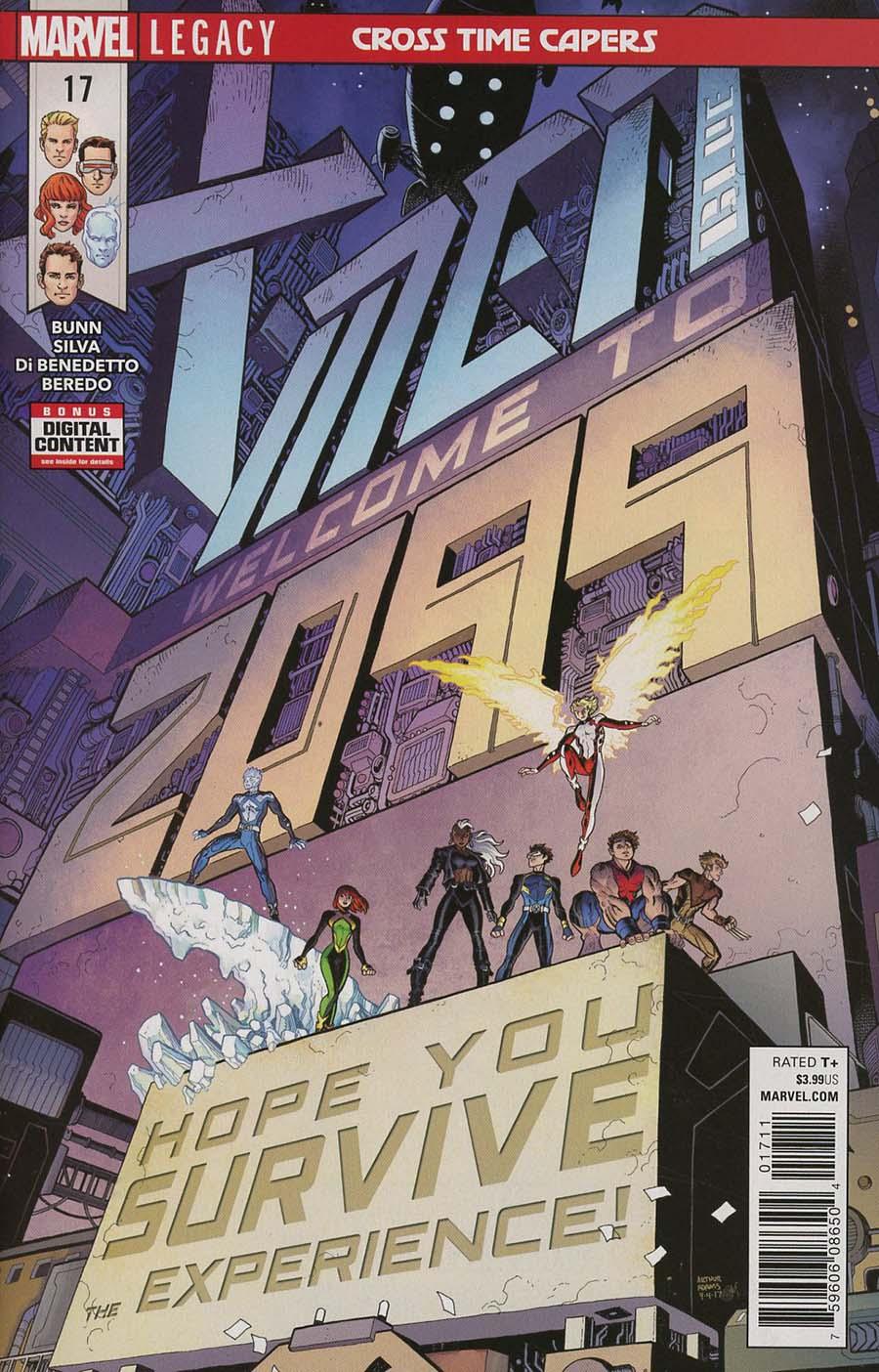 X-Men Blue #17 (Marvel Legacy Tie-In)