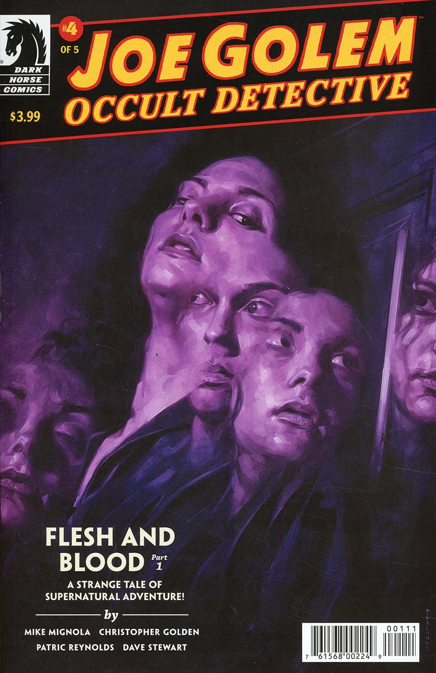 Joe Golem Occult Detective Flesh And Blood #1
