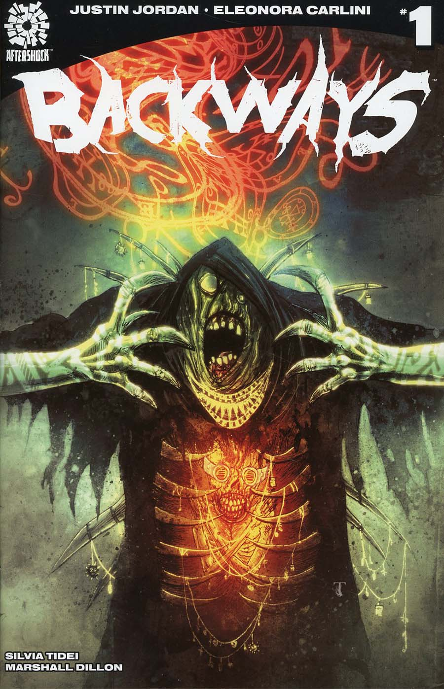 Backways #1 Cover B Variant Ben Templesmith Cover
