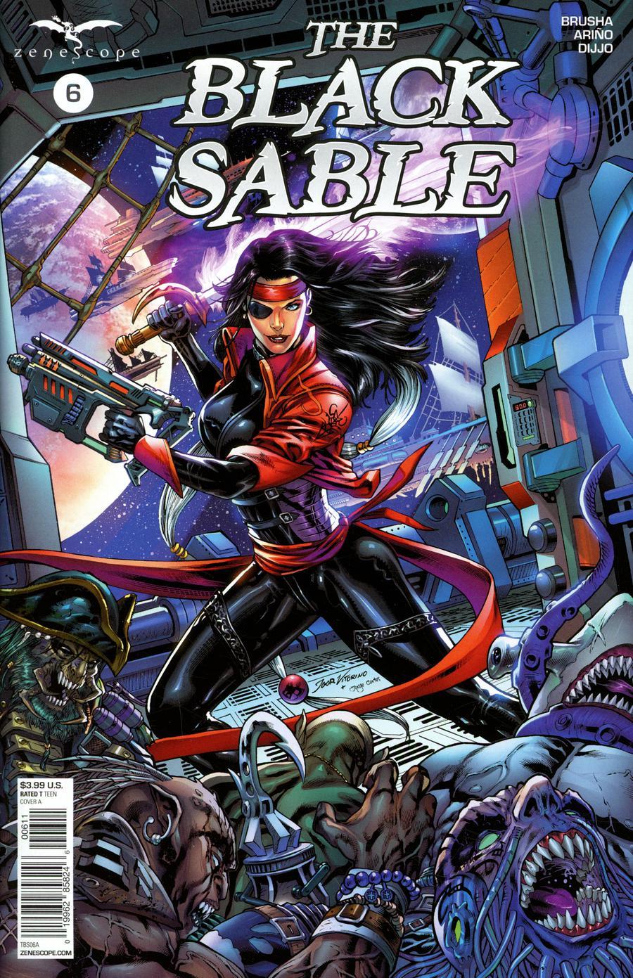 Black Sable #6 Cover A Igor Vitorino