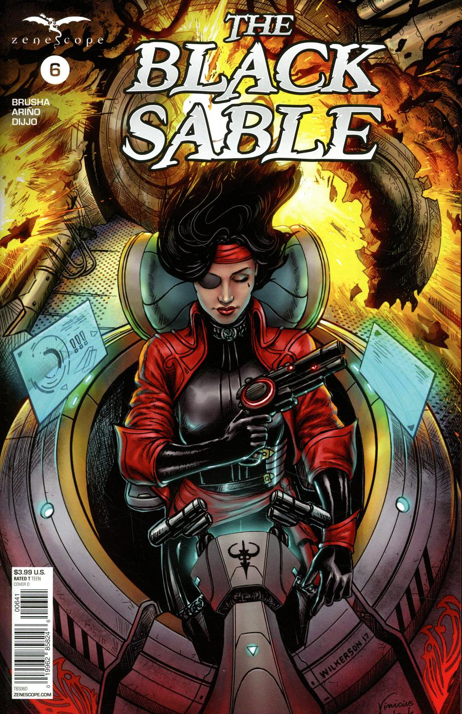 Black Sable #6 Cover D Eric Wilkerson