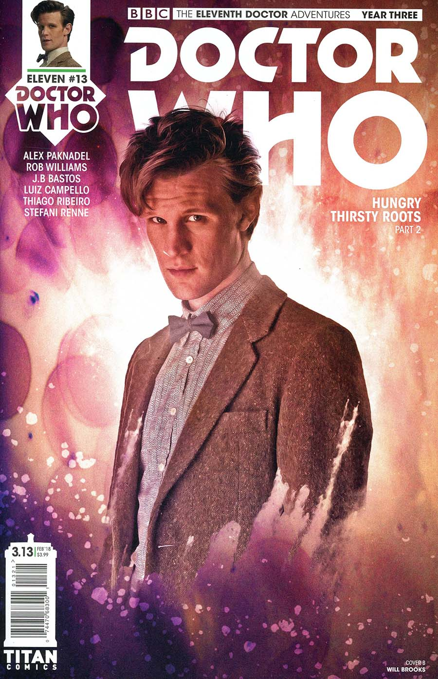 Doctor Who 11th Doctor Year Three #13 Cover B Variant Photo Cover