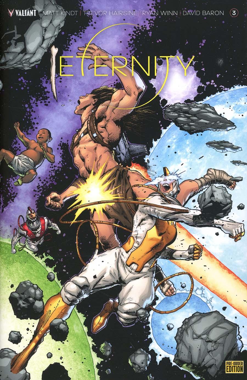 Eternity #3 Cover C Variant Trevor Hairsine Cover