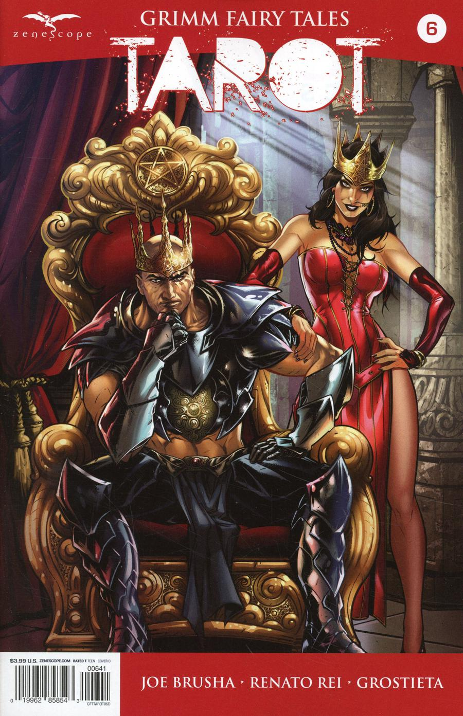 Grimm Fairy Tales Presents Tarot #6 Cover D Riveiro