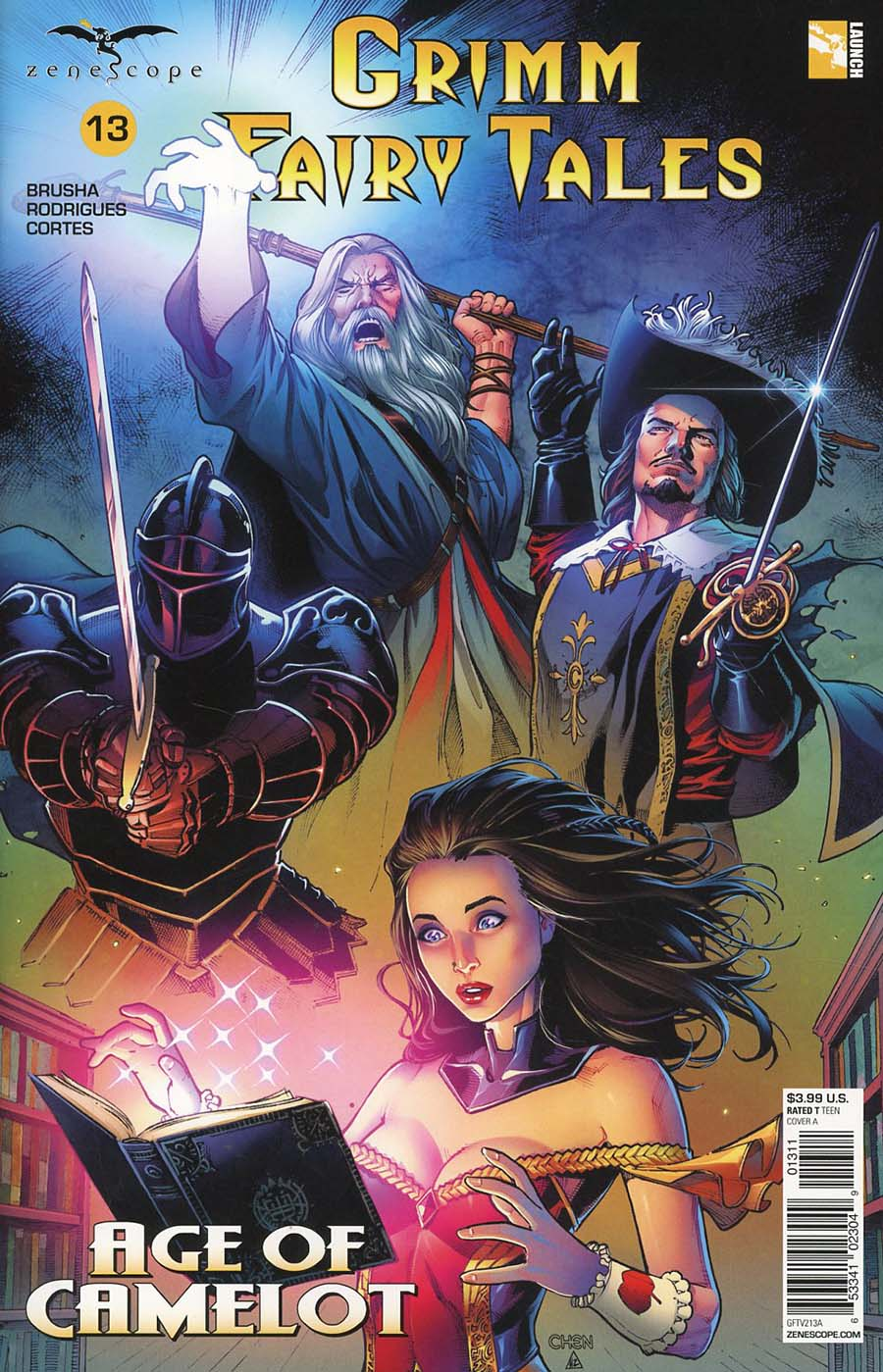 Grimm Fairy Tales Vol 2 #13 Cover A Sean Chen